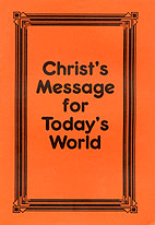 Christ's Message For Today's World